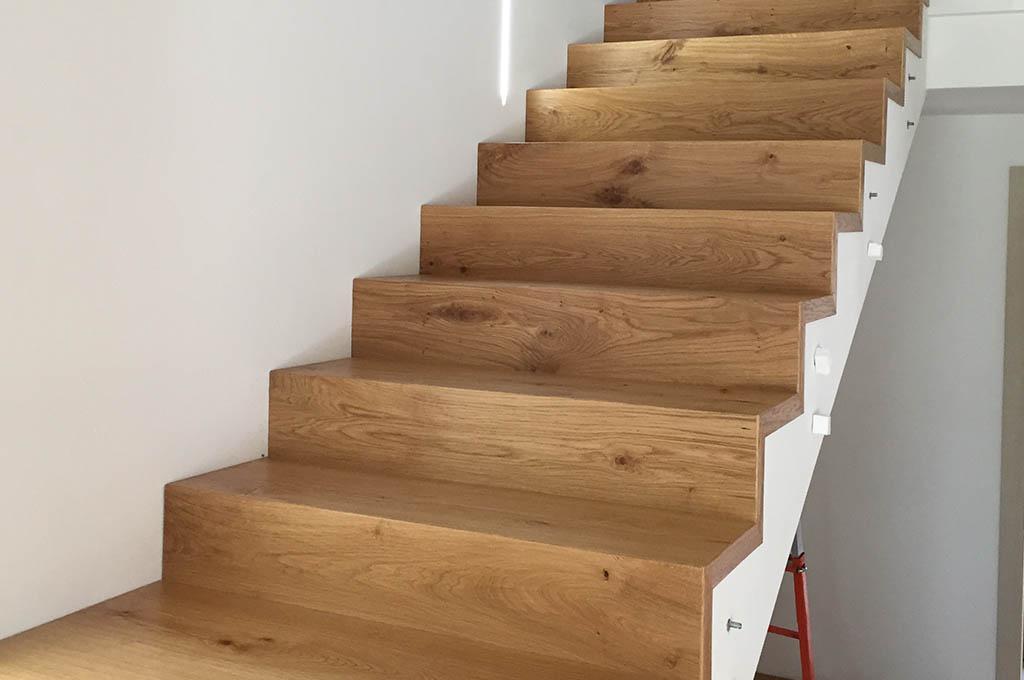Vendita pavimenti in legno e parquet a vicenza campagnaro - Scale rivestite in legno per interni ...